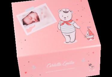 geschenkbox baby sailor pink closeup