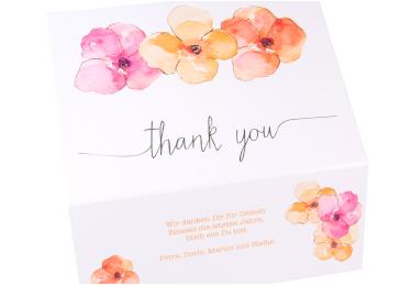 geschenkbox danke flora weiß close